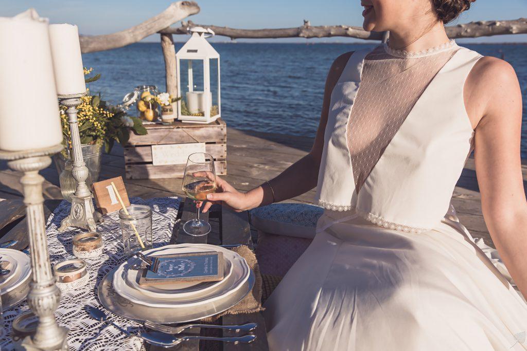 Shooting d'inspiration mariage bord de mer