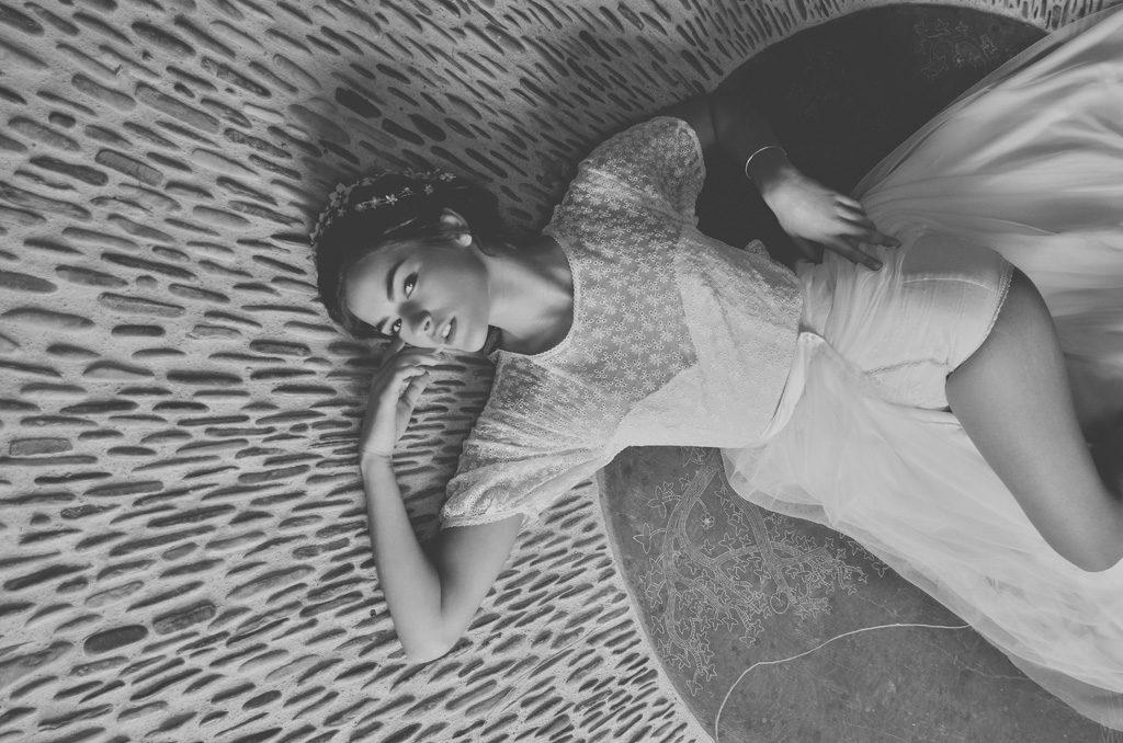 Amandine Grimm - Collection 2018 - Top Songe - Jupe Solstice - Shorty Elixir