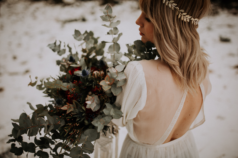 robe de mariée boheme dos ouvert