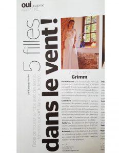 Amandine Grimm CRÉATRICEDE ROBES DE MARIÉESUR MESURE