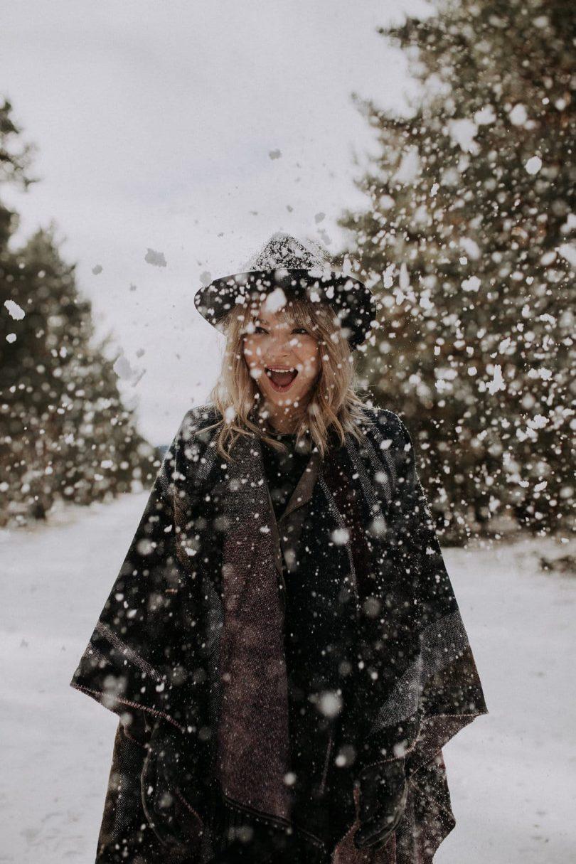 Un mariage en hiver sous la neige ellopment