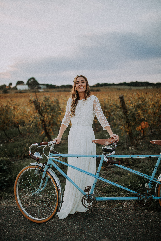 Robes de mariée mariage intimiste
