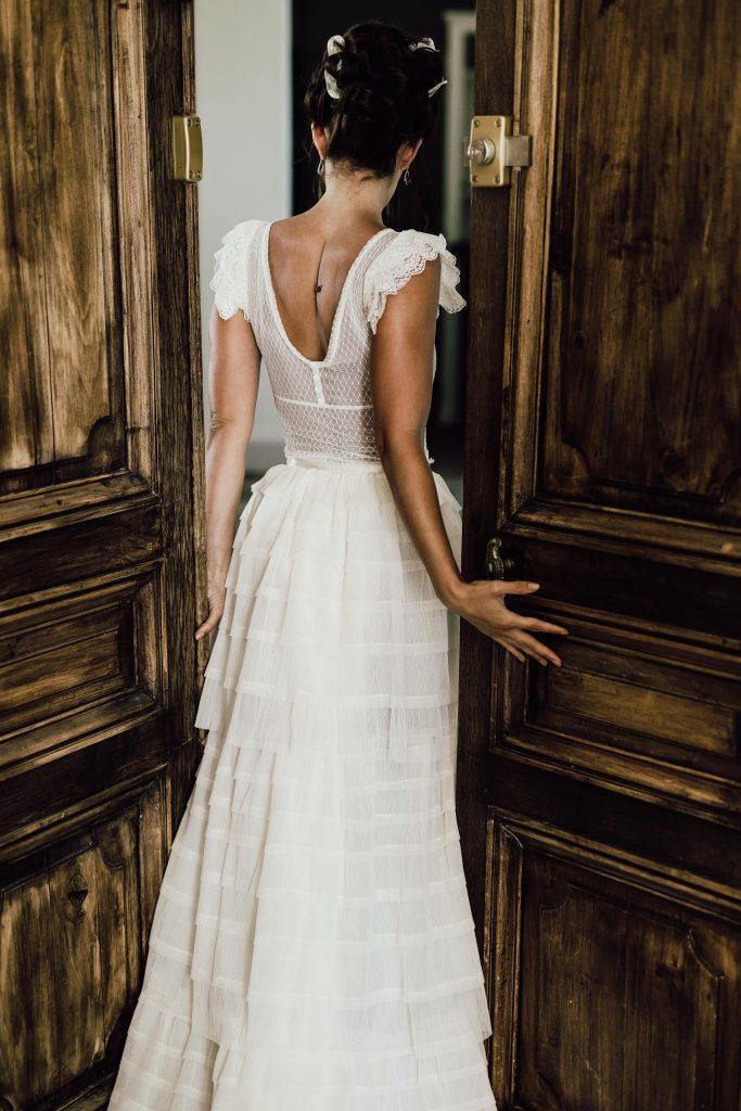Amandine Grimm robes de mariée sur mesure couture