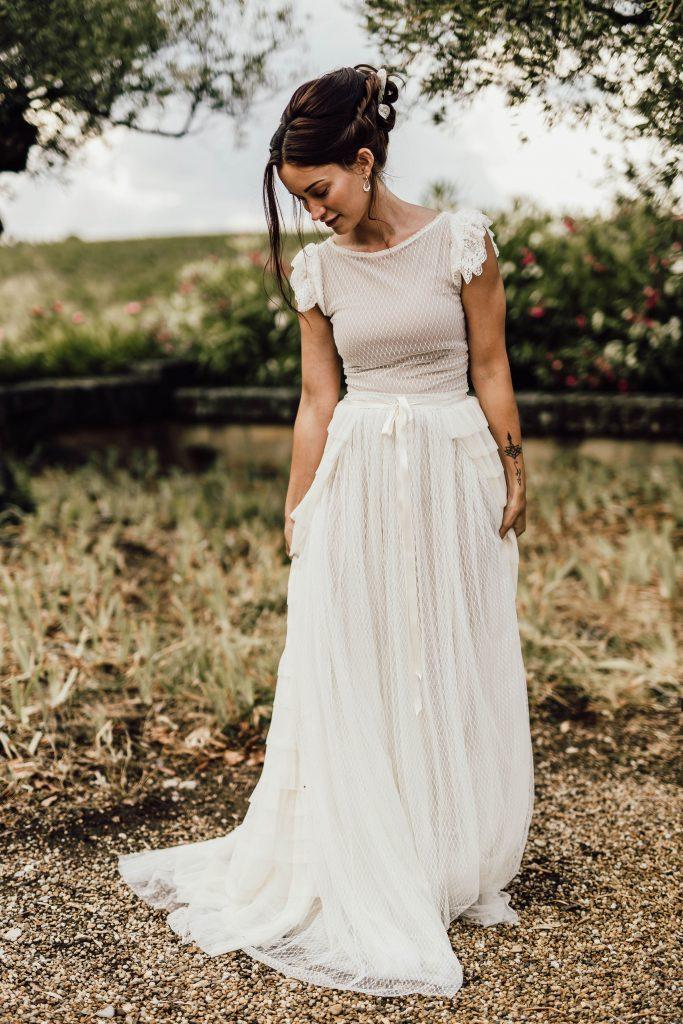 robe de mariée amandine grimm