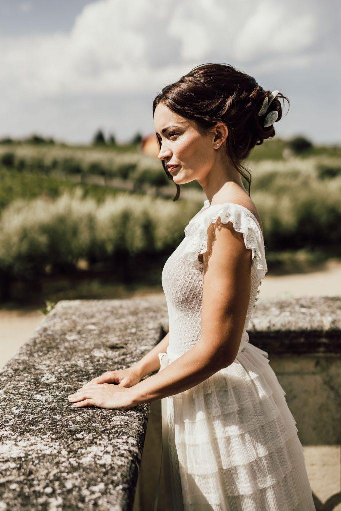 robe de mariée sur mesure couture - Amandine Grimm