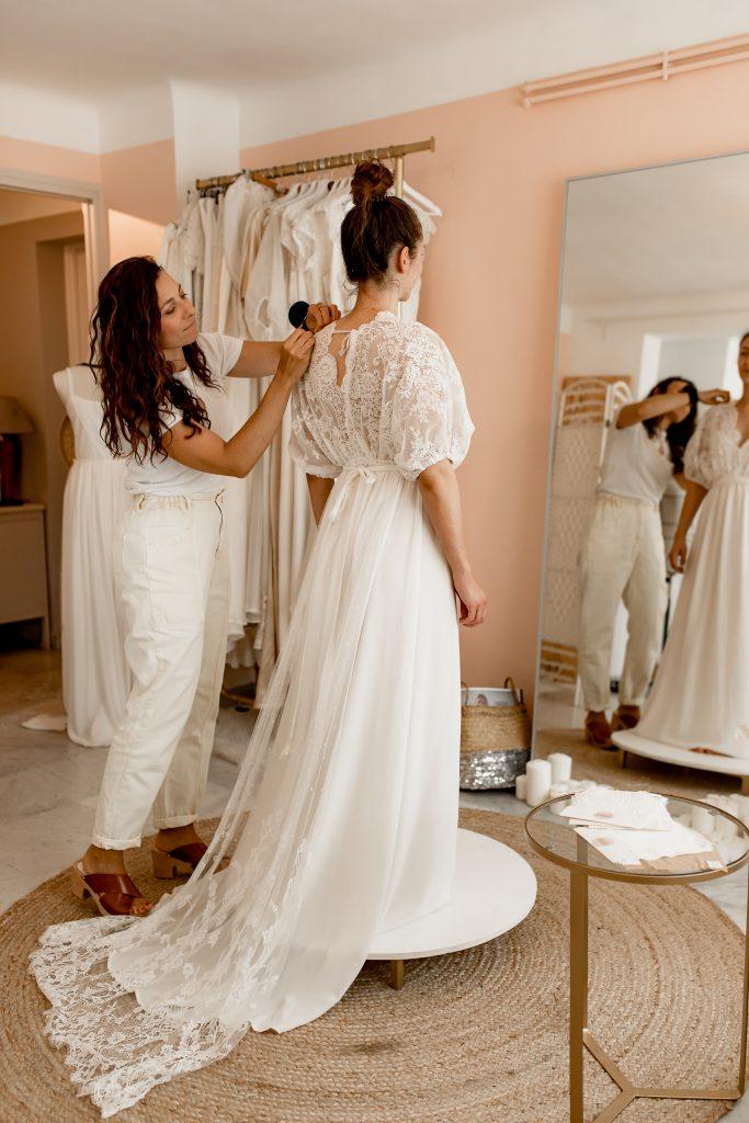 créatrice robes de mariée Montpellier france