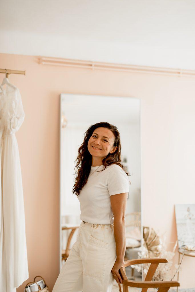créatrice de robes de mariée